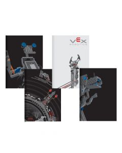 VEX STEM Posters (4-pack) (shown folded)