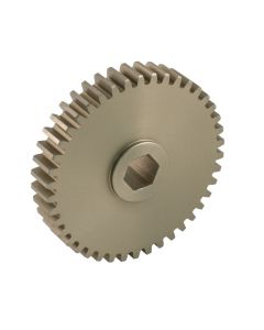 "Aluminum Spur Gear with 1/2"" Hex Bore"