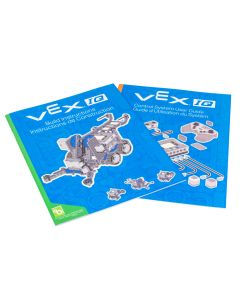 VEX IQ User Guide, Build Instructions & Build Tips Poster