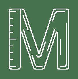 M to represent Math in STEM